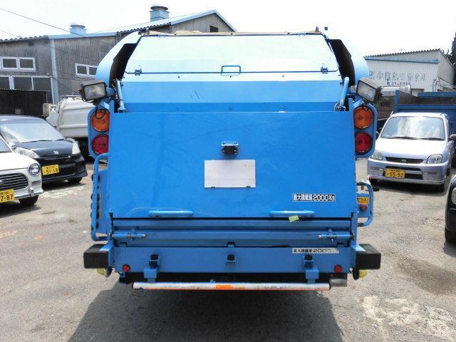 いすゞ エルフトラック 2t積 極東製プレスパッカー4.2立米 4.8D 型式PB
