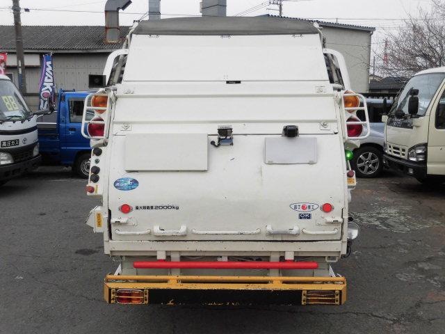 いすゞ エルフトラック 2t積 フジマイティ製プレスパッカー車4.2立米 4.6D