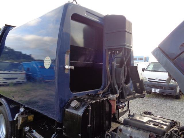 2t積 極東製プレスパッカー車4.2立米 4.0Lディーゼル フロア5速MT 連続スイッチ付 型式KK NOxPM適合(39枚目)
