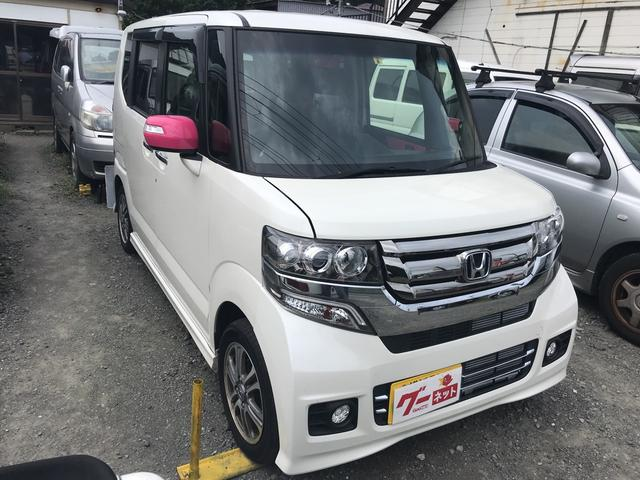 「ホンダ」「N-BOXカスタム」「コンパクトカー」「神奈川県」の中古車3