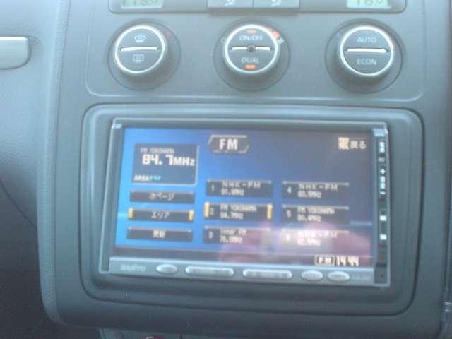 フォルクスワーゲン VW ゴルフトゥーラン GLi 7人乗り ワンオーナー 社外ナビ ETC キーレス