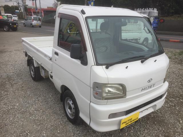 ダイハツ ハイゼットトラック エアコン・パワステ スペシャル 5MT パワステ エアコン