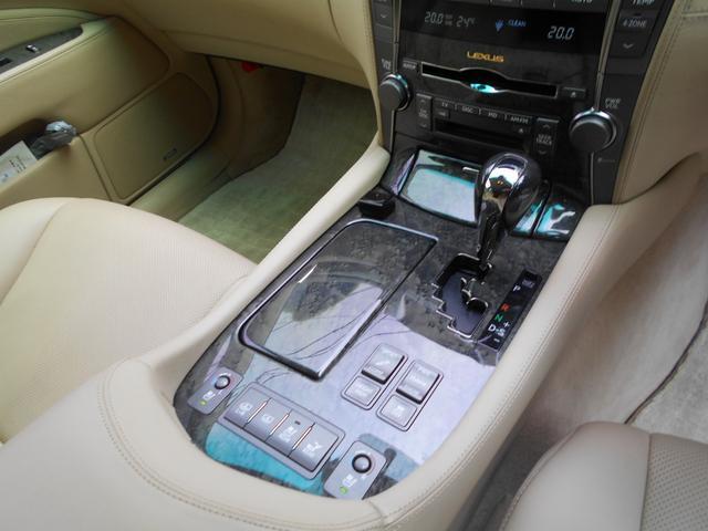 LS600h バージョンU Iパッケージ デモカー(11枚目)