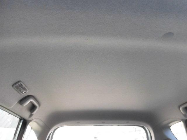 禁煙車でしたので天井もキレイです