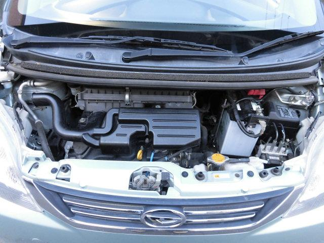 タイミングチェーンエンジンに燃費の良いCVT車です