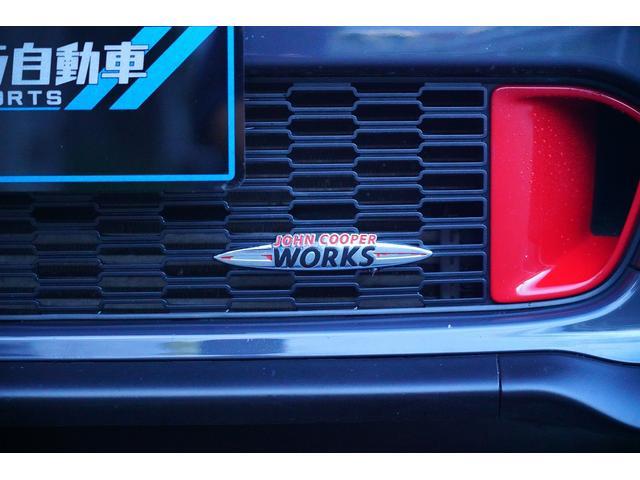 ジョンクーパーワークスGP 世界限定2000台 日本限定200台 社外サブウーファー RECAROシート フルバケット 本革ステアリング ブラックライトトリム(15枚目)