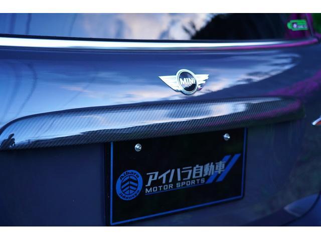 ジョンクーパーワークスGP 世界限定2000台 日本限定200台 社外サブウーファー RECAROシート フルバケット 本革ステアリング ブラックライトトリム(42枚目)