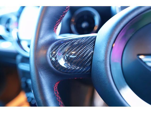 ジョンクーパーワークスGP 世界限定2000台 日本限定200台 社外サブウーファー RECAROシート フルバケット 本革ステアリング ブラックライトトリム(58枚目)