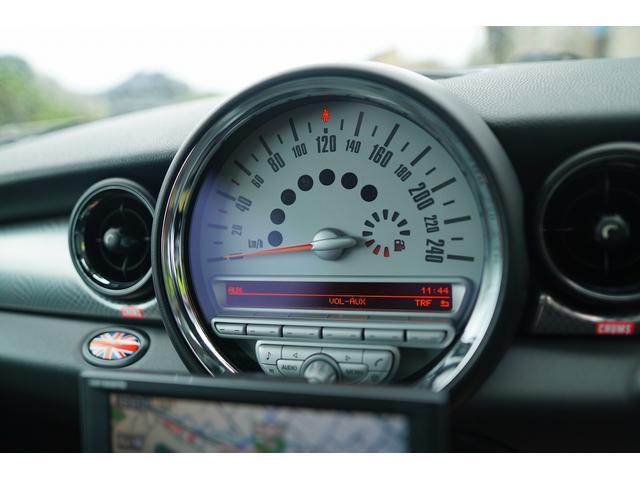 クーパーS クラブマン HDDナビ バックカメラ ローダウン JCWブレーキ装着 サンルーフ クルコン シートヒーター(46枚目)