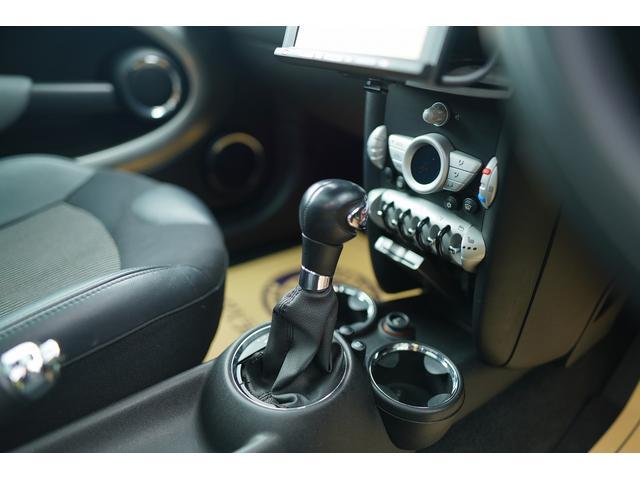 クーパーS クラブマン HDDナビ バックカメラ ローダウン JCWブレーキ装着 サンルーフ クルコン シートヒーター(51枚目)