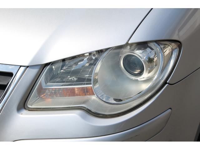 フォルクスワーゲン VW ゴルフトゥーラン TSI トレンドライン 社外ナビ TV 社外AW