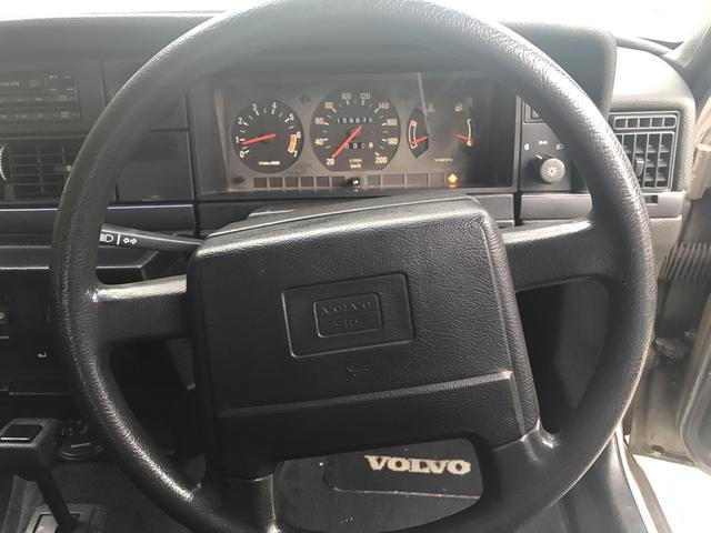 ボルボ ボルボ 240 240GL ディーラー車 右ハンドル タイベル交換済