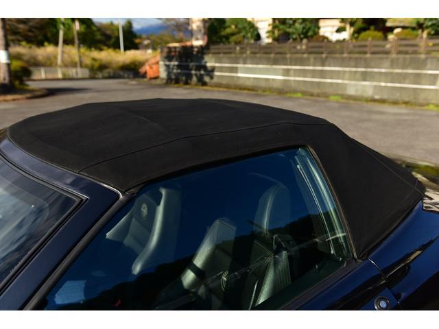 ベースグレード 黒革シート ETC オープン フロア5速MT 純正カセットオーディオ(39枚目)