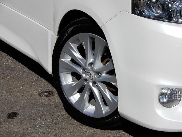 ヴェルファイヤ純正18インチアルミ、タイヤは4本新品交換♪ ブレーキパッドも前後新品に交換致します。