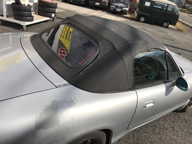 マツダ ロードスター オープンカー MT AC パワーウィンドウ ナビ ETC