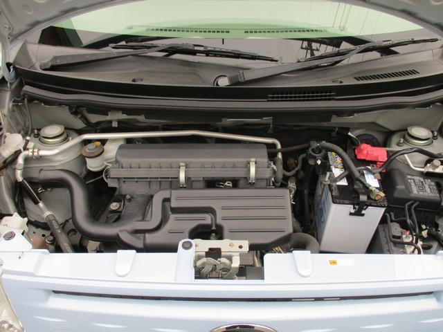 エンジンルームも細部まで洗浄。エンジンルーム内の各機関も点検・整備済。当社では販売開始前とご成約ご納車前の2回整備を実施します。