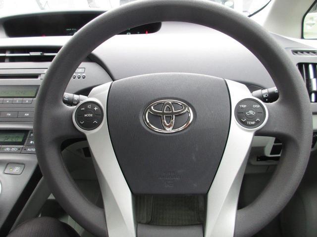 運転席エアバックと