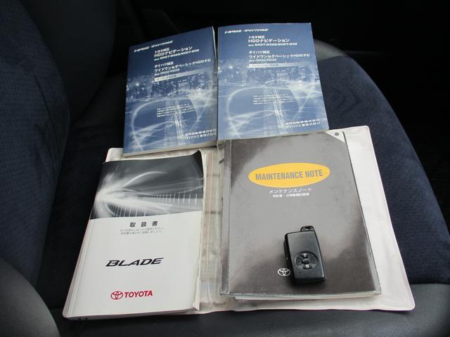 新車時保証書、整備記録簿、取扱説明書、スペアキー完備!