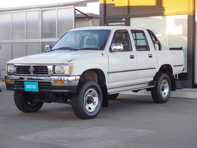「トヨタ」「ハイラックスピックアップ」「SUV・クロカン」「静岡県」の中古車6