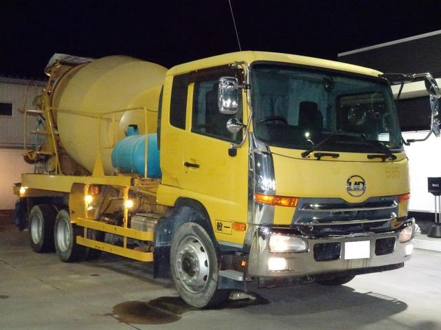 ミキサー車 カヤバMR45 積載10,860Kg 8.9立米(8枚目)