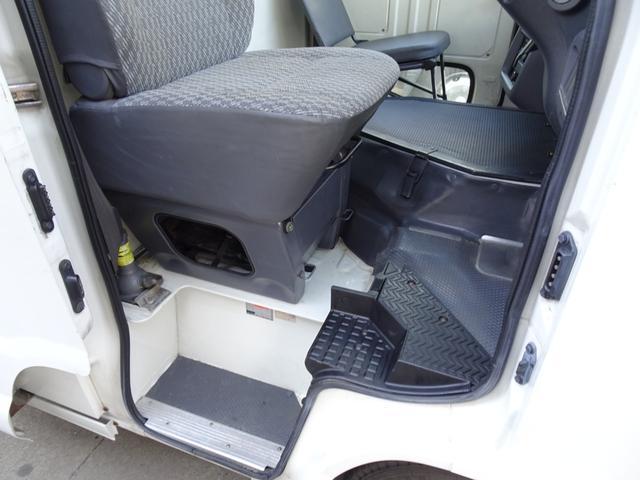DX ウォークスルーバン フルタイム4WD 積載1.25t コラム5速 タイベル交換済み ディーゼル 原動機5L 車両総重量3,530Kg NOx・PM適合 移動販売車 キッチンカー キャンピング ベース車(35枚目)