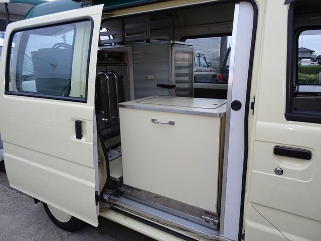 移動販売車 キッチンカー 加工車登録 軽自動車 8ナンバー シンク オーブン サイドオーニング 1人乗り(22枚目)