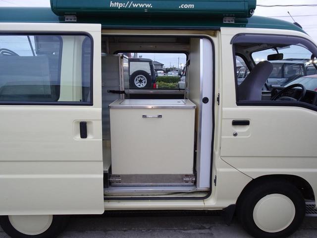 移動販売車 キッチンカー 加工車登録 軽自動車 8ナンバー シンク オーブン サイドオーニング 1人乗り(23枚目)
