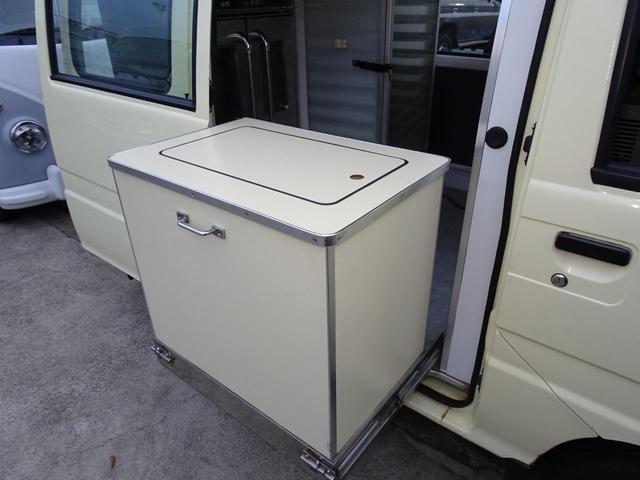 移動販売車 キッチンカー 加工車登録 軽自動車 8ナンバー シンク オーブン サイドオーニング 1人乗り(24枚目)