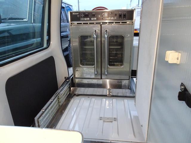 移動販売車 キッチンカー 加工車登録 軽自動車 8ナンバー シンク オーブン サイドオーニング 1人乗り(28枚目)