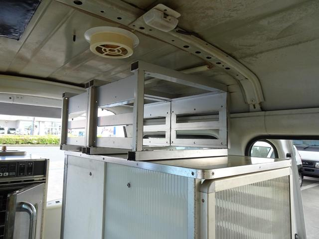 移動販売車 キッチンカー 加工車登録 軽自動車 8ナンバー シンク オーブン サイドオーニング 1人乗り(31枚目)