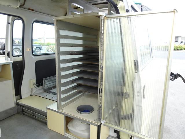 移動販売車 キッチンカー 加工車登録 軽自動車 8ナンバー シンク オーブン サイドオーニング 1人乗り(35枚目)