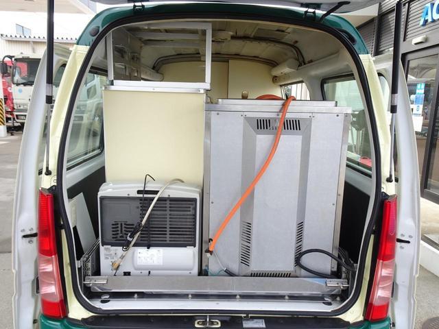 移動販売車 キッチンカー 加工車登録 軽自動車 8ナンバー シンク オーブン サイドオーニング 1人乗り(38枚目)