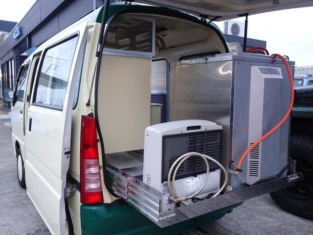移動販売車 キッチンカー 加工車登録 軽自動車 8ナンバー シンク オーブン サイドオーニング 1人乗り(41枚目)