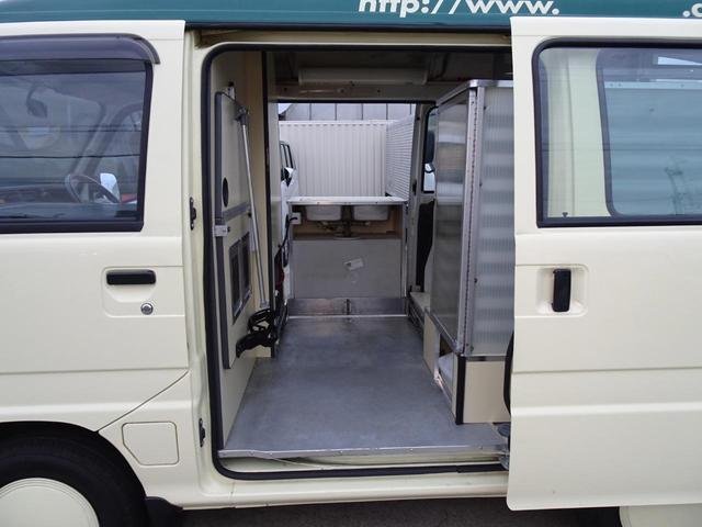 移動販売車 キッチンカー 加工車登録 軽自動車 8ナンバー シンク オーブン サイドオーニング 1人乗り(48枚目)