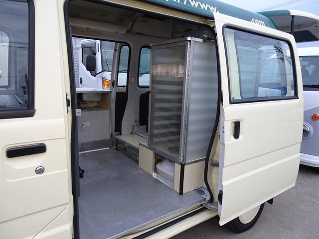 移動販売車 キッチンカー 加工車登録 軽自動車 8ナンバー シンク オーブン サイドオーニング 1人乗り(49枚目)