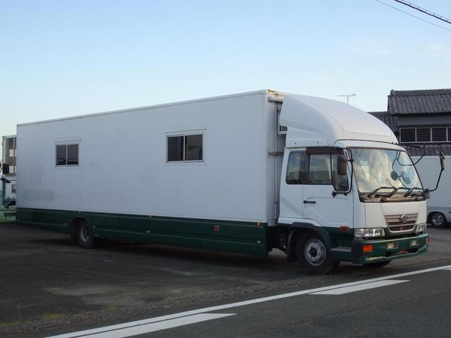 車両重量:7,840Kg 車両総重量:7,950Kg NOx・PM適合