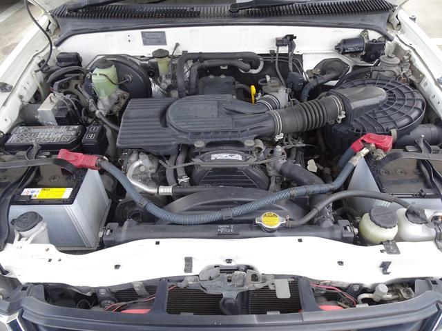 エクストラキャブ ワイド 後期最終型 LN172H ディーゼル 5MT 4WD ABS 1ナンバー タイミングベルト交換済み 原動機5L ノーマル車両 BFグッドリッチATタイヤ 集中ドアロック フロントガラス新品交換済み(36枚目)