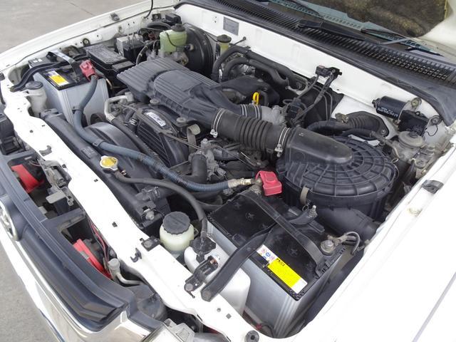 エクストラキャブ ワイド 後期最終型 LN172H ディーゼル 5MT 4WD ABS 1ナンバー タイミングベルト交換済み 原動機5L ノーマル車両 BFグッドリッチATタイヤ 集中ドアロック フロントガラス新品交換済み(37枚目)