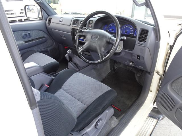 エクストラキャブ ワイド 後期最終型 LN172H ディーゼル 5MT 4WD ABS 1ナンバー タイミングベルト交換済み 原動機5L ノーマル車両 BFグッドリッチATタイヤ 集中ドアロック フロントガラス新品交換済み(44枚目)