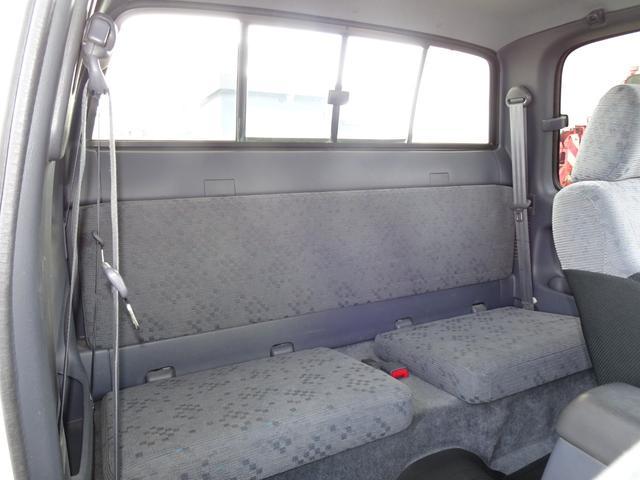 エクストラキャブ ワイド 後期最終型 LN172H ディーゼル 5MT 4WD ABS 1ナンバー タイミングベルト交換済み 原動機5L ノーマル車両 BFグッドリッチATタイヤ 集中ドアロック フロントガラス新品交換済み(52枚目)