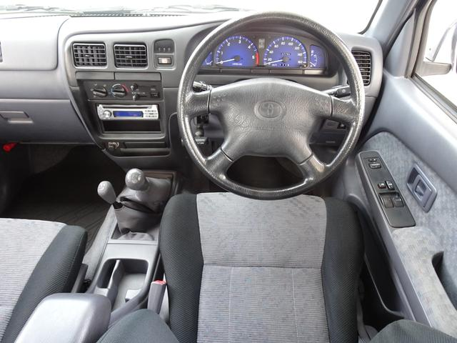 エクストラキャブ ワイド 後期最終型 LN172H ディーゼル 5MT 4WD ABS 1ナンバー タイミングベルト交換済み 原動機5L ノーマル車両 BFグッドリッチATタイヤ 集中ドアロック フロントガラス新品交換済み(54枚目)