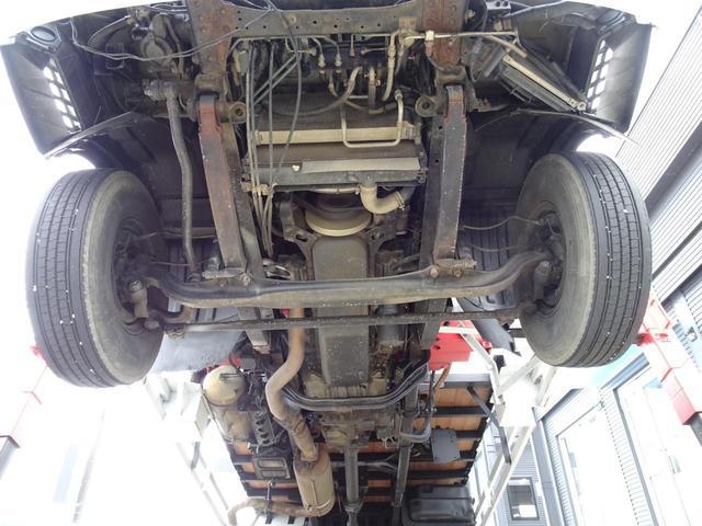 積載2.2t 荷台長さ486cm ハイジャッキ セルフ セルフクレーン セルフローダー 240馬力 ユニック4段クレーン2.93t ラジコン フックイン 三方あおり 重機運搬車 回送車 GVW8t未満(24枚目)