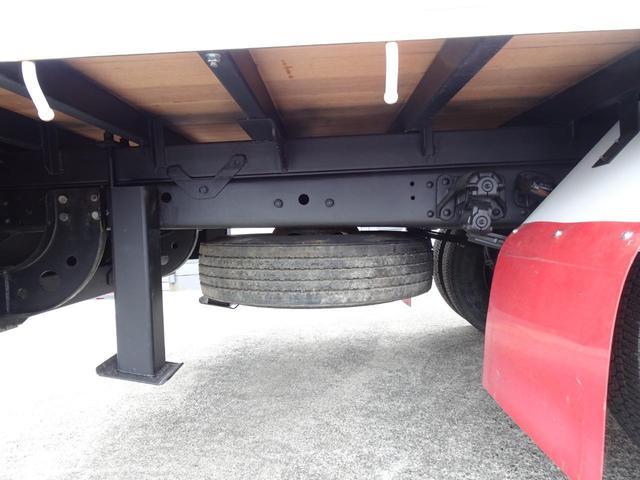 積載2.2t 荷台長さ486cm ハイジャッキ セルフ セルフクレーン セルフローダー 240馬力 ユニック4段クレーン2.93t ラジコン フックイン 三方あおり 重機運搬車 回送車 GVW8t未満(38枚目)