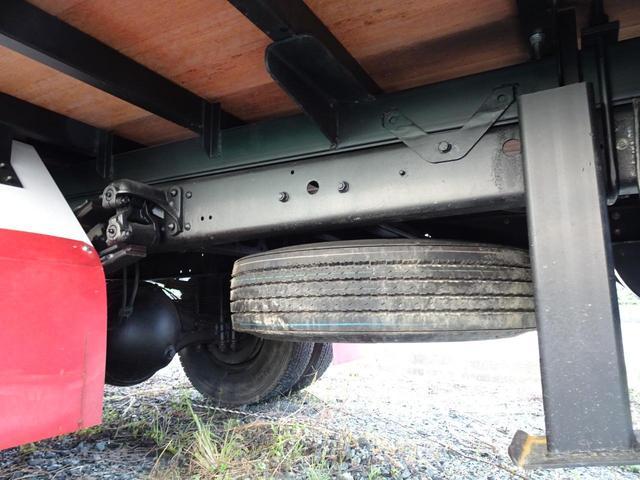 積載2.2t 荷台長さ486cm ハイジャッキ セルフ セルフクレーン セルフローダー 240馬力 ユニック4段クレーン2.93t ラジコン フックイン 三方あおり 重機運搬車 回送車 GVW8t未満(59枚目)