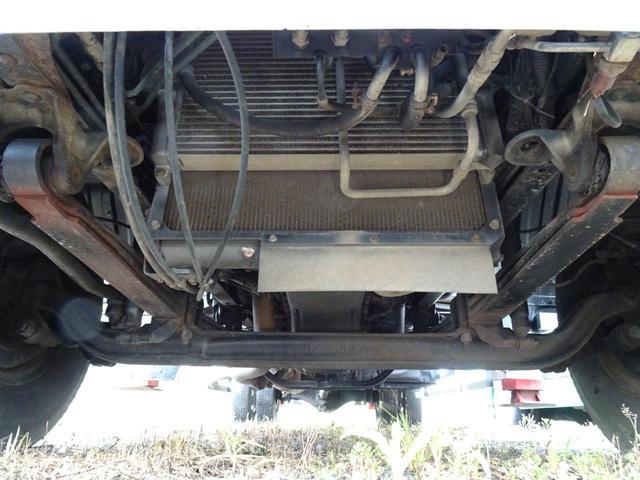 積載2.2t 荷台長さ486cm ハイジャッキ セルフ セルフクレーン セルフローダー 240馬力 ユニック4段クレーン2.93t ラジコン フックイン 三方あおり 重機運搬車 回送車 GVW8t未満(66枚目)