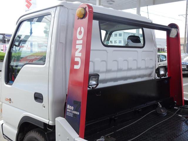 積載車 キャリアカー 最大積載2t ユニックUC-33ERR 荷台長さ572cm・幅205cm ラジコン付き 荷台ウインチ 6MT・3ペダル セーフティーローダー NOx・PM適合(23枚目)