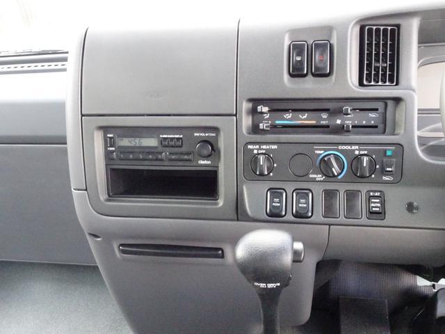 SX 26人乗り ワンオーナー 実走行5,520Km 自動スイングドア AT車 ABS付き TD42ディーゼル ビニールレザーシート NOx・PM適合(20枚目)