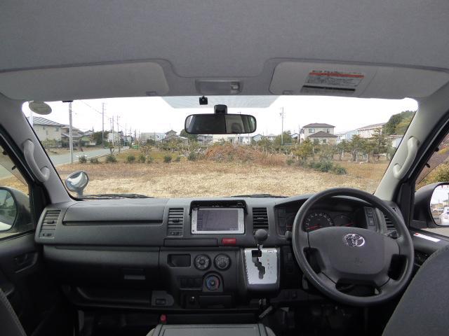 トヨタ ハイエースバン 4WD ロングDX GLパッケージ 3.0D-T ナビ TV
