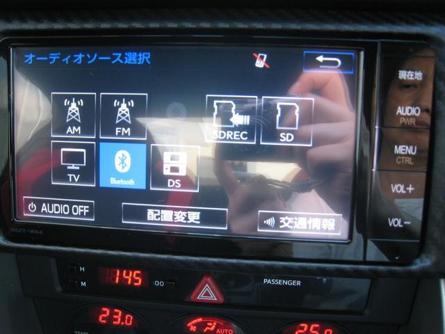 純正追加オプションのナビ!走行中映るフルセグTV!DVDビデオ!SDカードオーディオ!CD録音機能!ブルートゥースオーディオ&ハンズフリー電話!