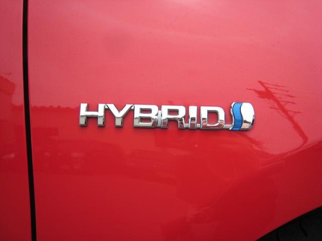 「HYBRID」エンブレム!